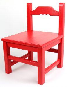 Stol z naslonjalom